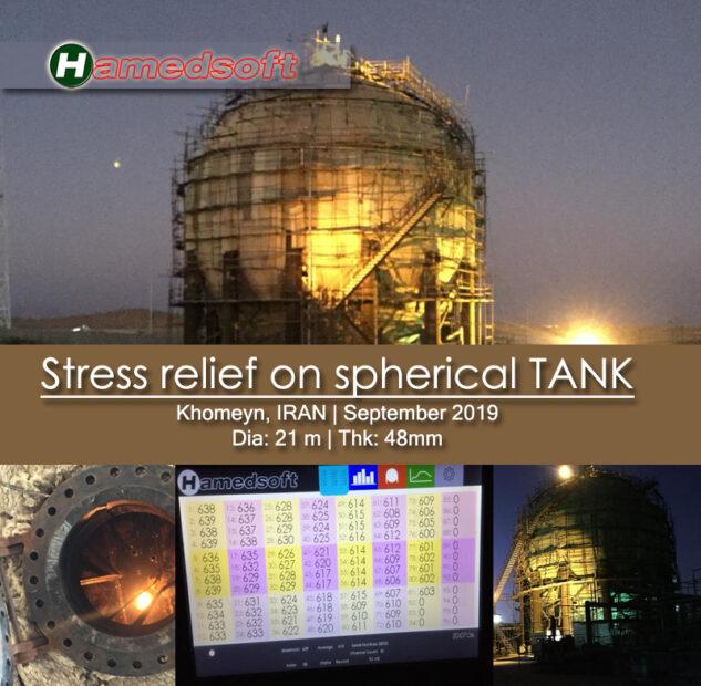 PWHT on khomeyn spherical tank